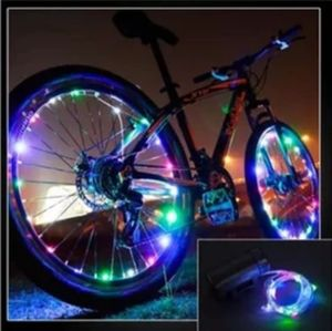 LIGHT UP LED BICYCLE WHEEL LIGHTS